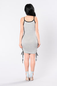 My Genre Dress - Heather Grey