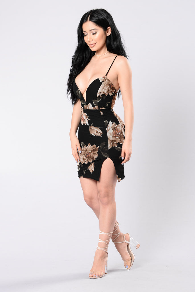Ready For Love Dress - Black