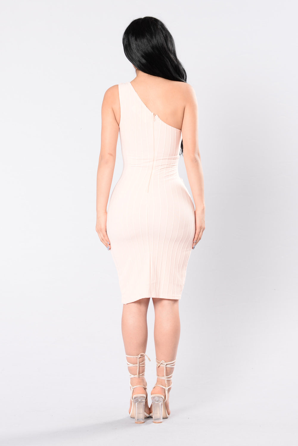 Public Affair Dress - Pink