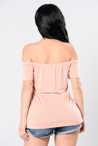 Start With Me Top - Blush