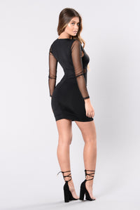Temporary Love Dress - Black