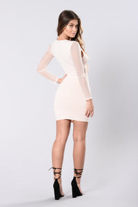Temporary Love Dress - Pale Pink
