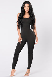Nova Boost Jumpsuit - Black
