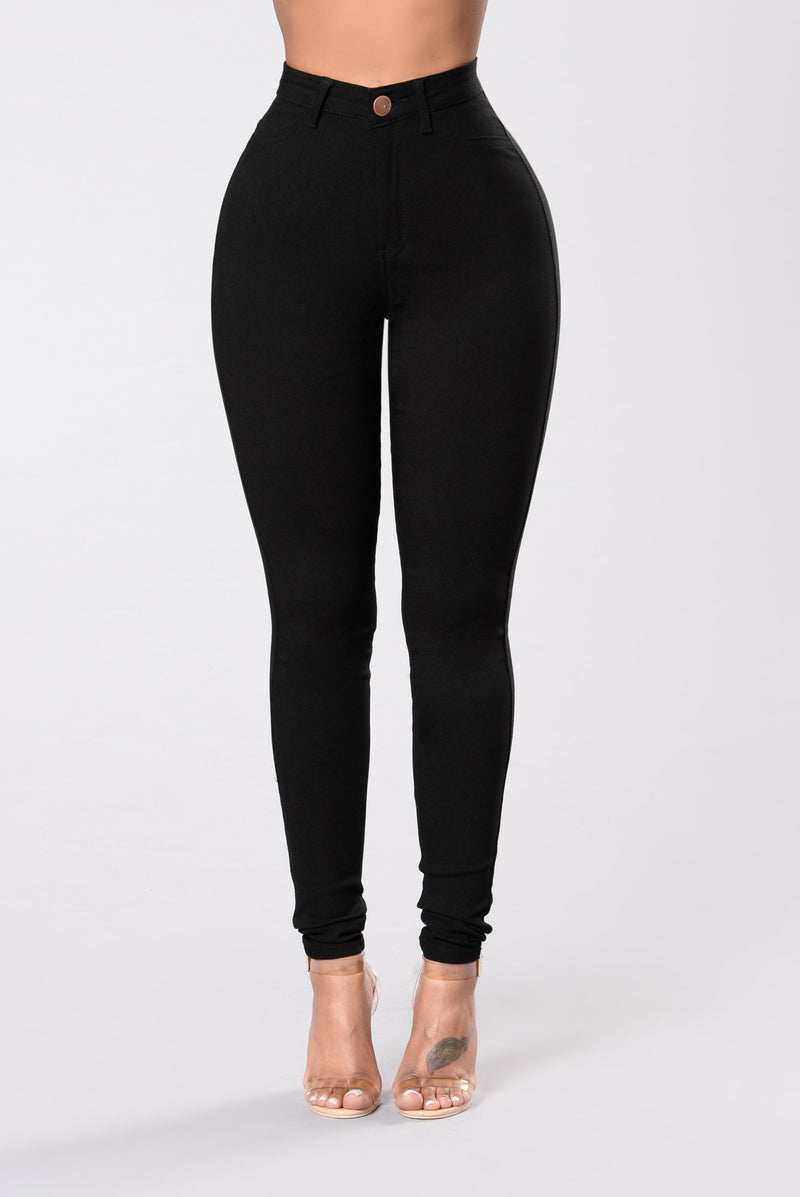 High Roller Pants - Black