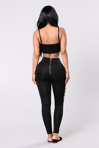 Wicked Words Pants - Black