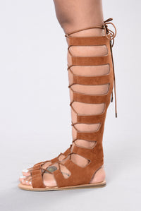 Cool It Gladiator Sandal - Brown