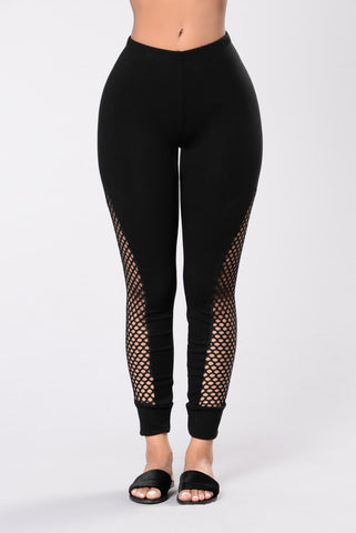Can't Help It Leggings - Black