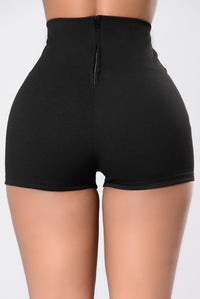 All Your Strengths And Weaknesses Shorts - Black