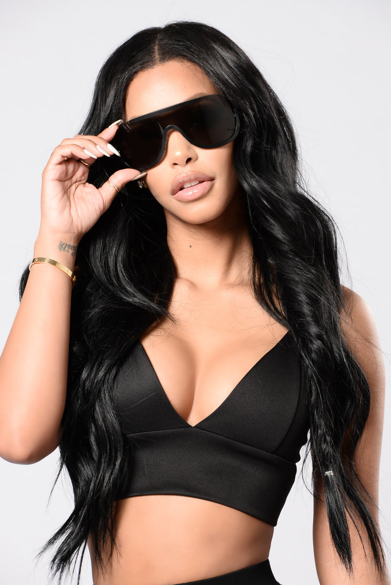 Kimmi Sunglasses - Black/Black