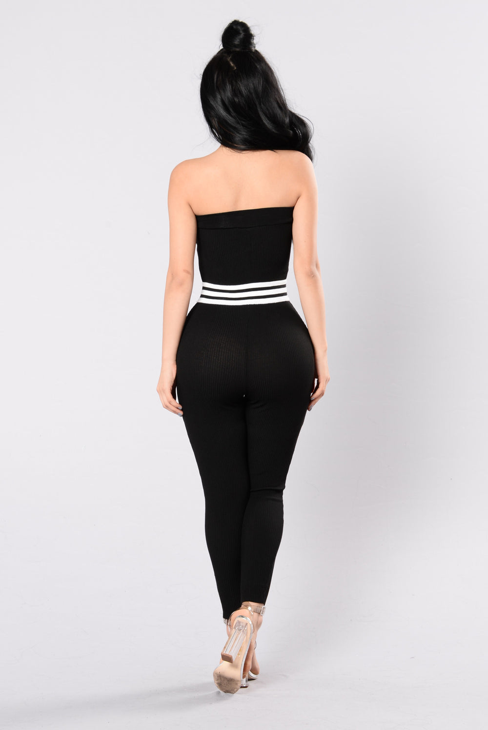 Got Some Of What I Like Jumpsuit - Black