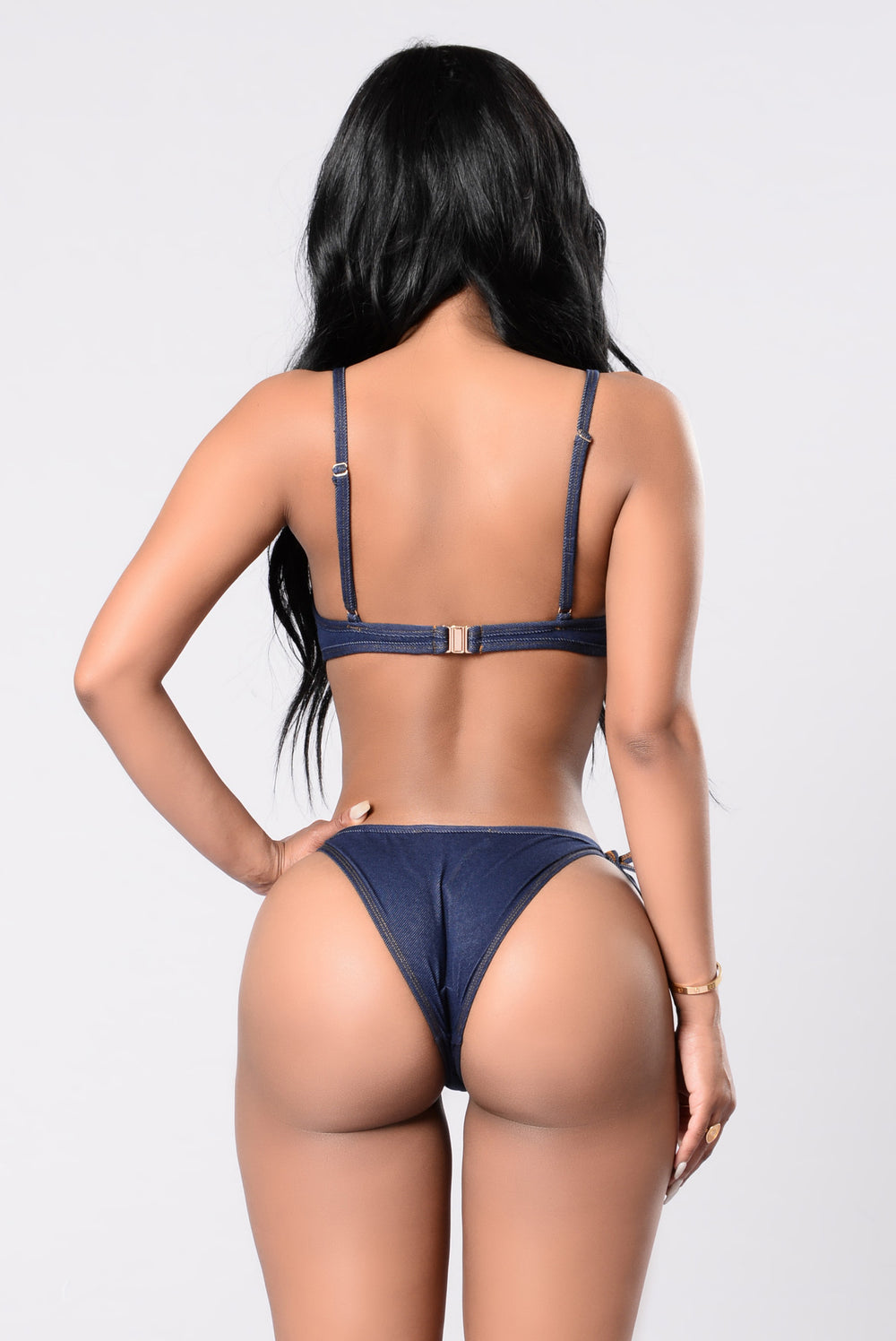Down To See You Bikini - Denim