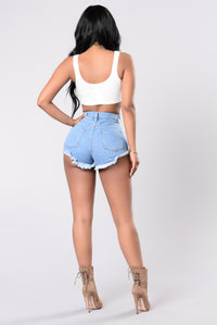 Lace Up Runner Up Top - Ivory