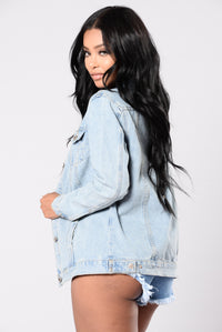 Night Owl Jacket - Medium Stone Wash