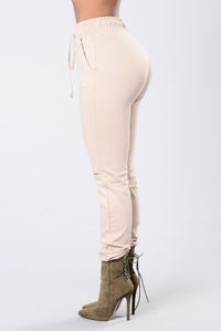 Only Vibrations Pants - Taupe