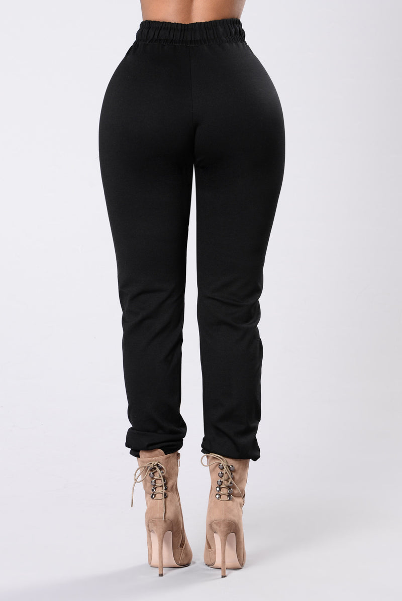 Only Vibrations Pants - Black