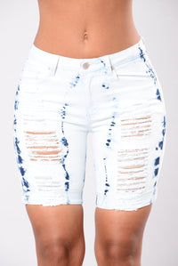 All Hypnotize Shorts - Blue