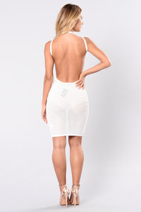 Blood Like Honey Dress - Ivory