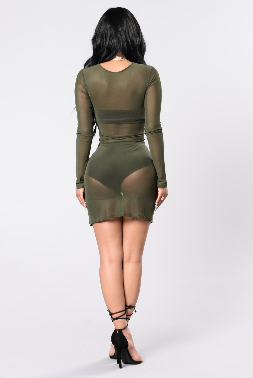 Sugar Coated Dress - Olive