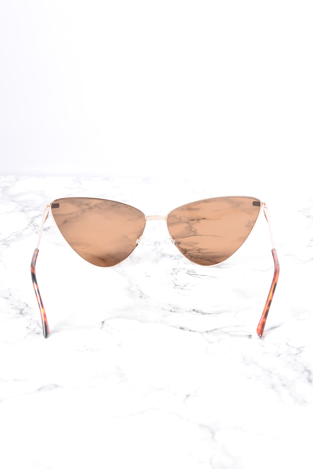 Bar Beach Sunglasses - Gold/Brown