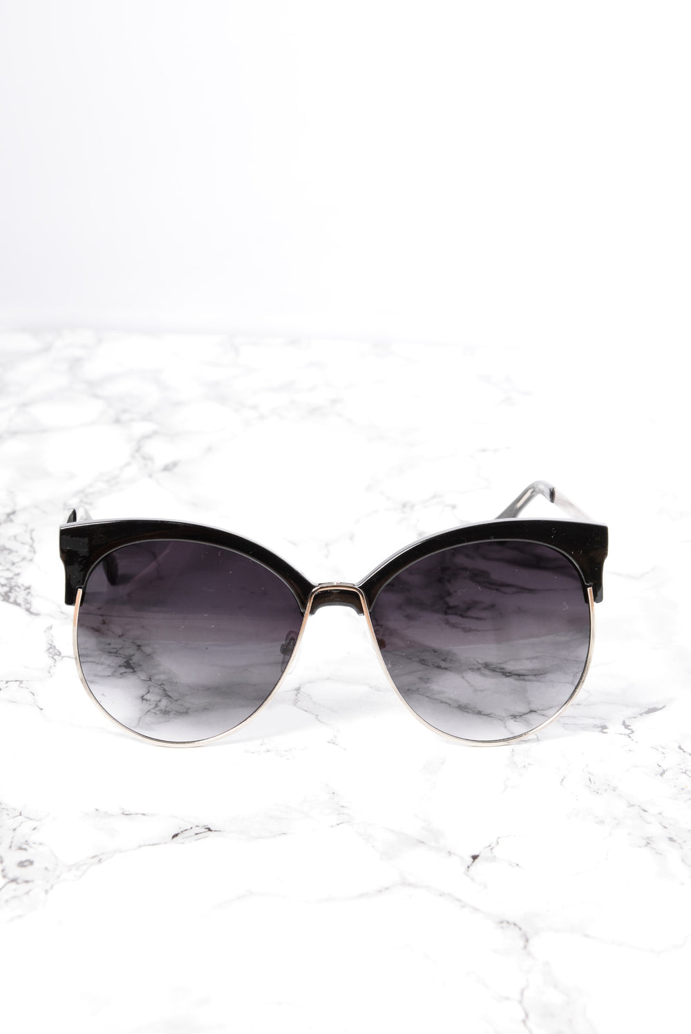 Zelda Sunglasses - Silver/Smoke