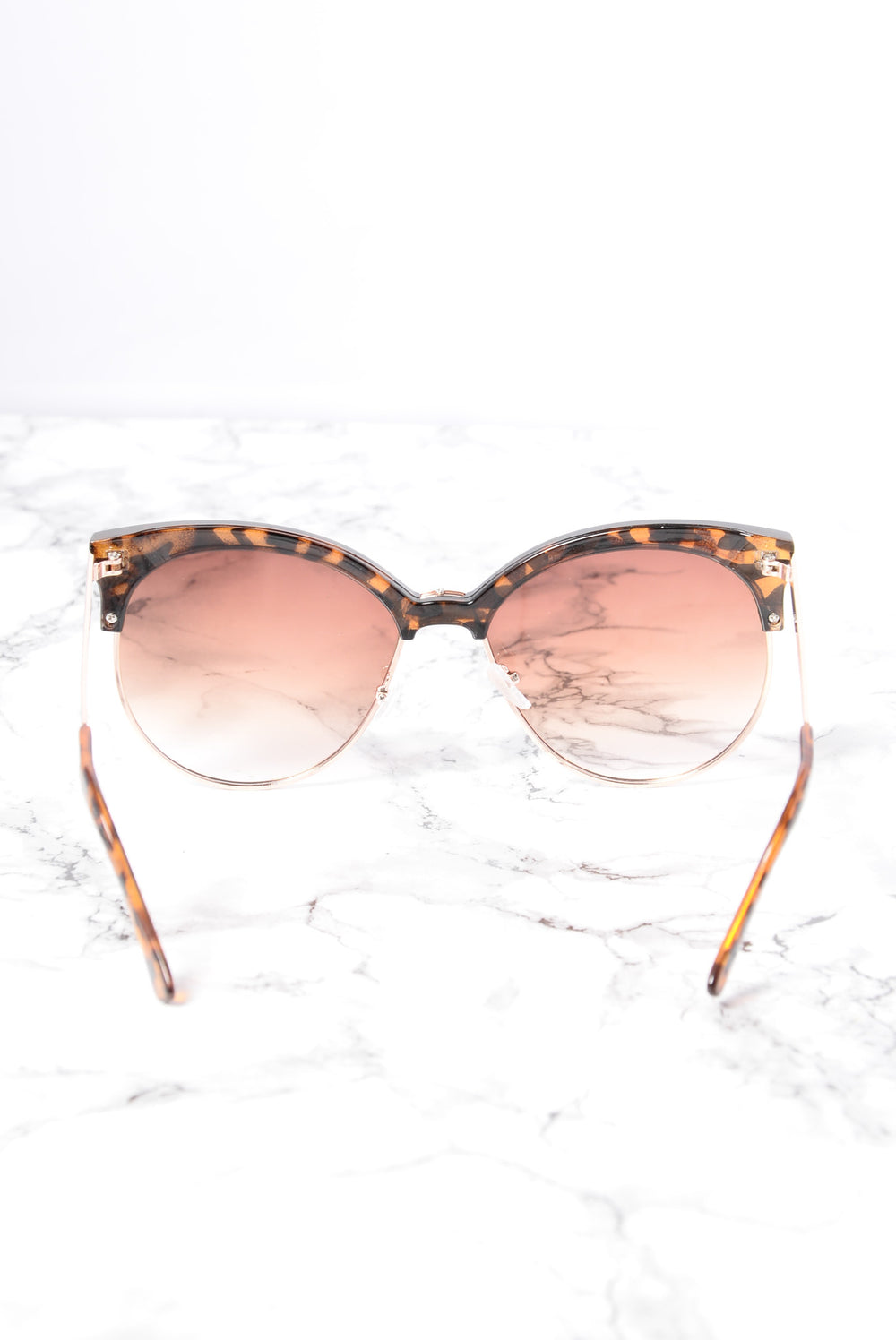 Zelda Sunglasses - Gold/Brown