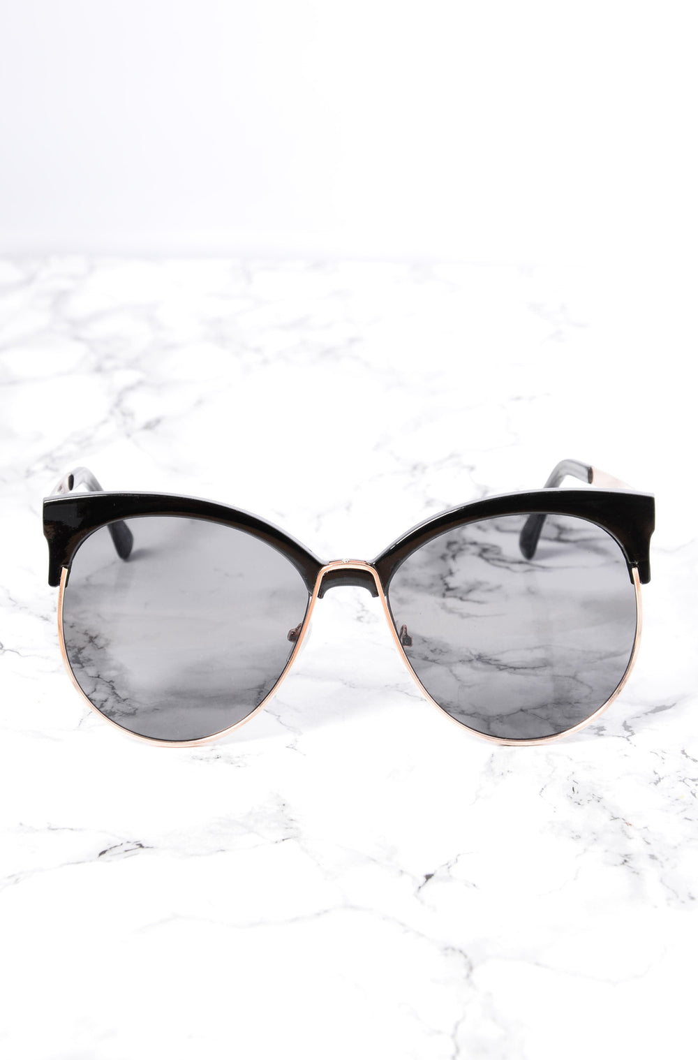 Zelda Sunglasses - Gold/Smoke
