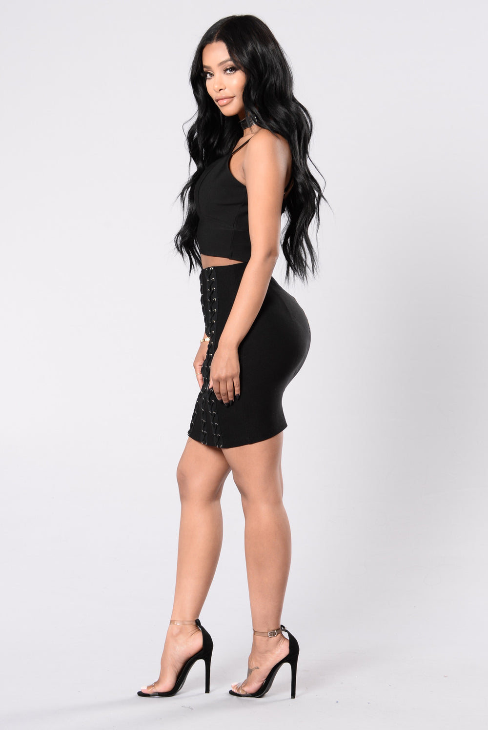Tight Rope Skirt - Black