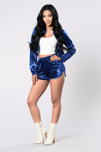 Working It Out Shorts - Royal