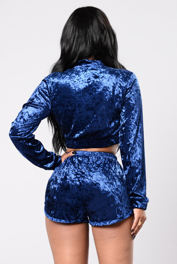 Working It Out Jacket - Royal