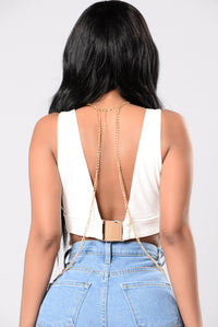 Hot To Touch Body Chain - Gold