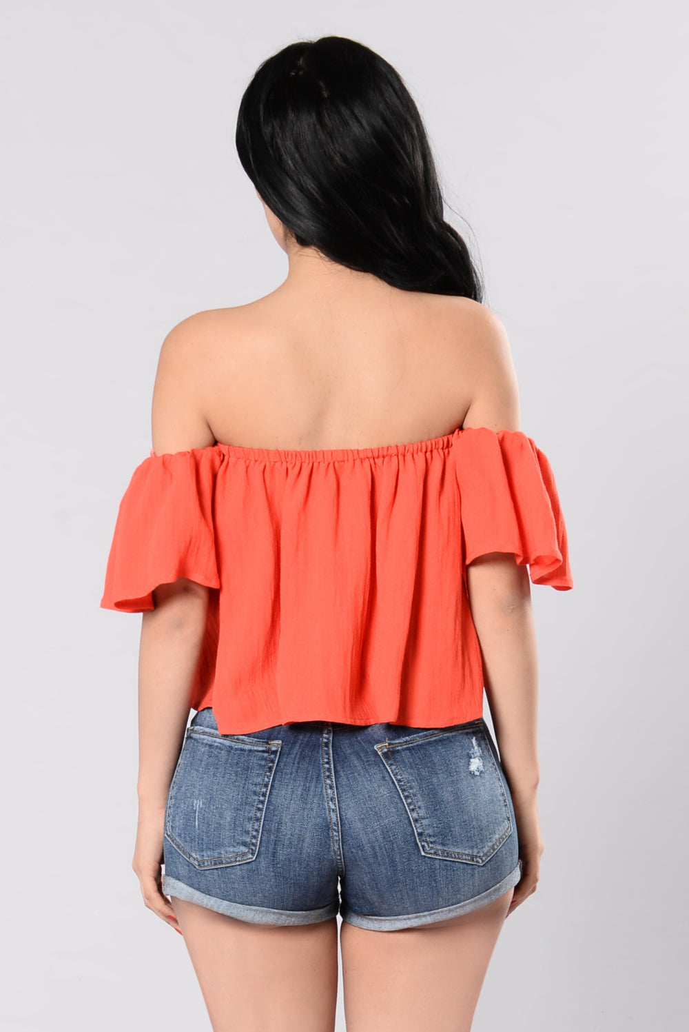 Jaymes Top - Orange