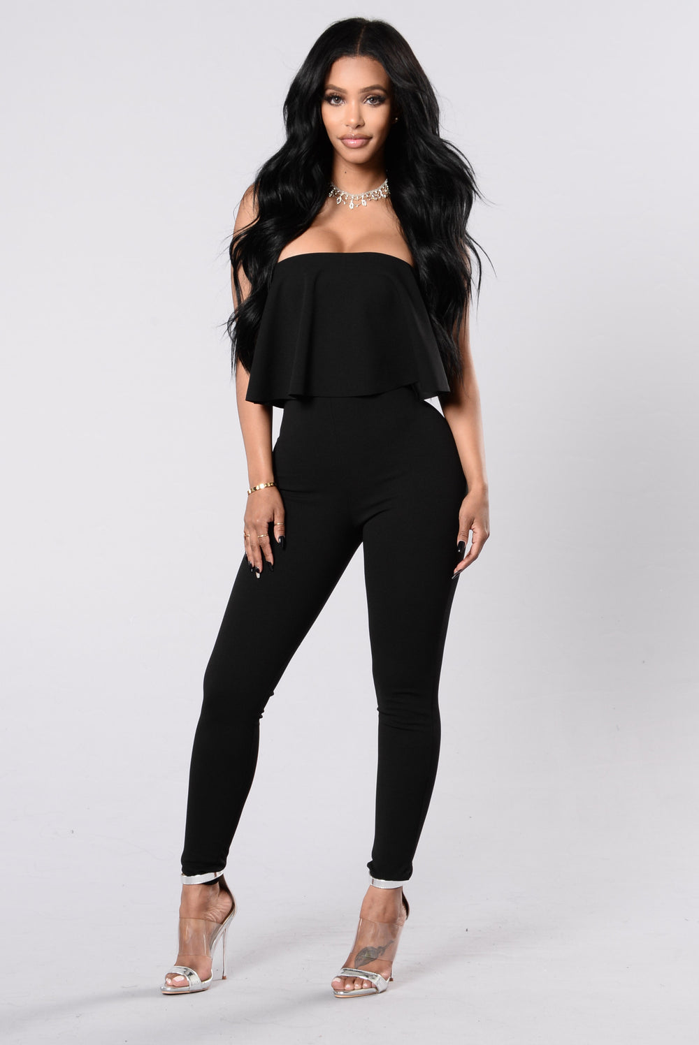 Soho Horse Jumpsuit - Black