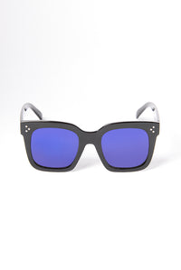 Barbados Sunglasses - Black/Blue