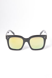 Barbados Sunglasses - Black/Yellow