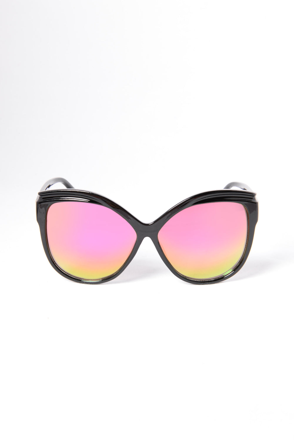 Bottoms Bay Sunglasses - Black/Red