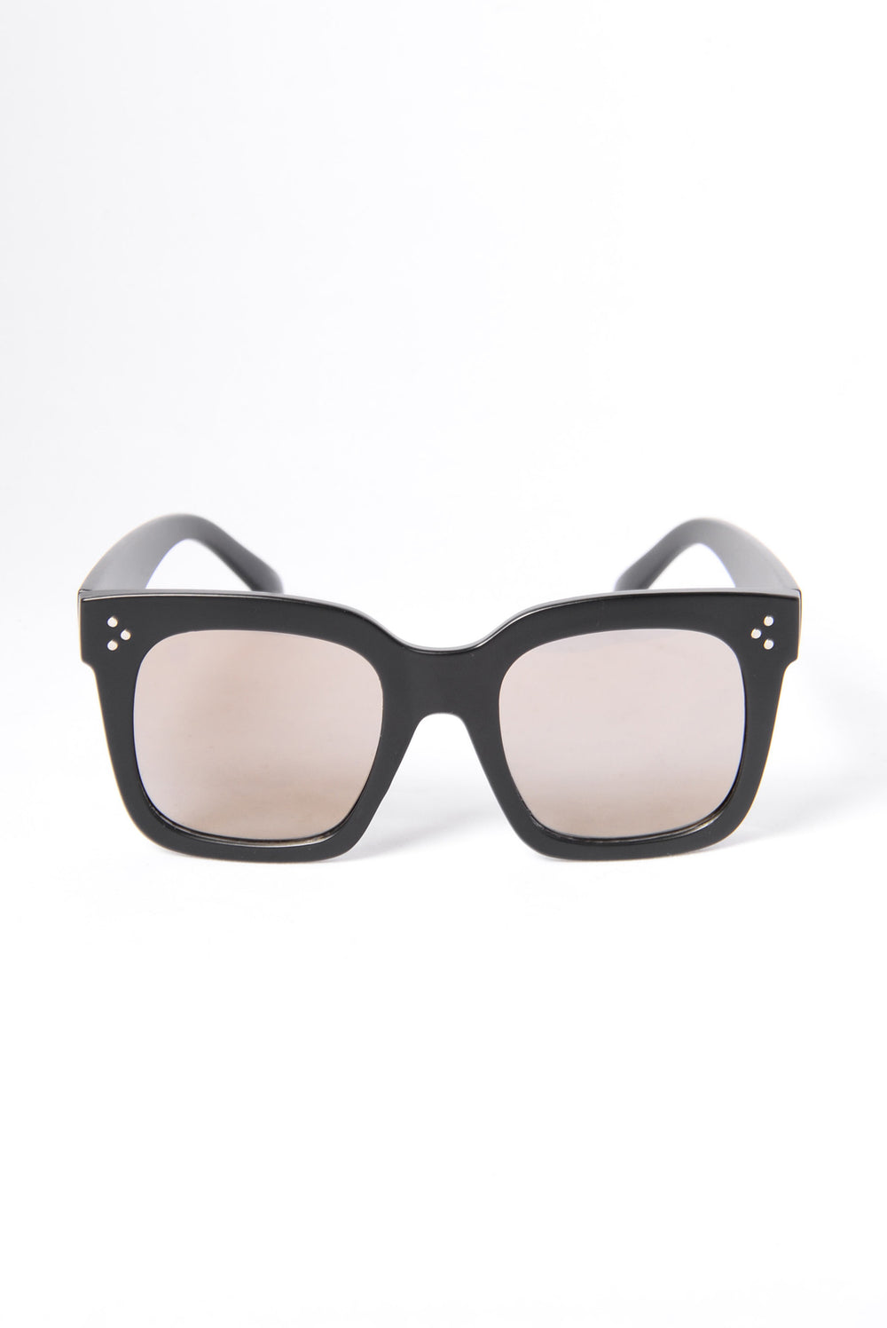 Barbados Sunglasses - Matte Black/Yellow