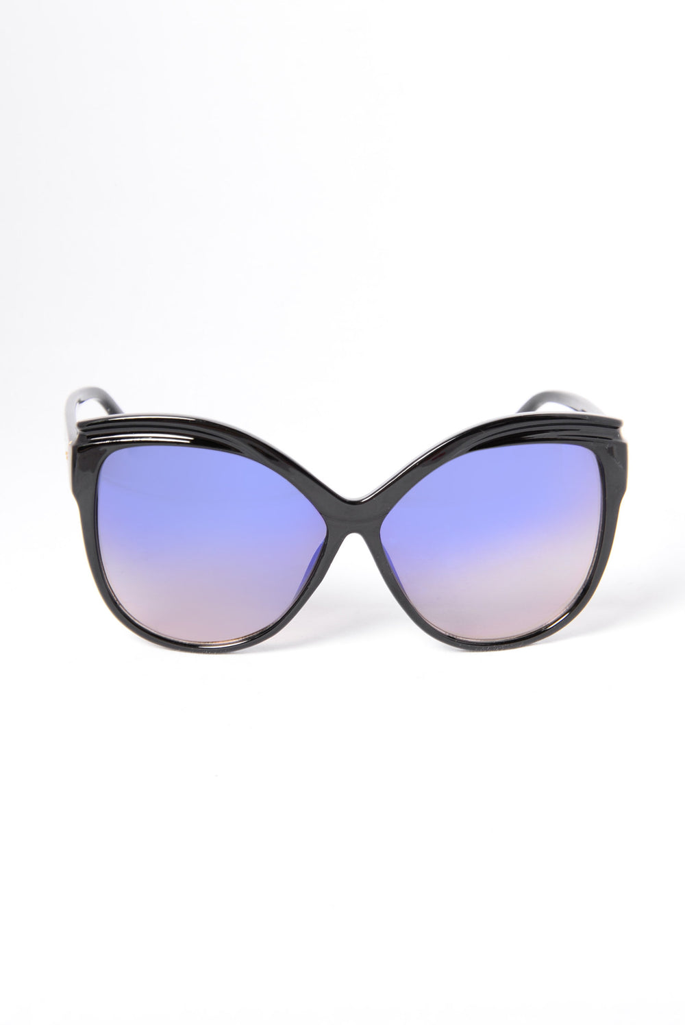 Bottoms Bay Sunglasses - Black/Blue