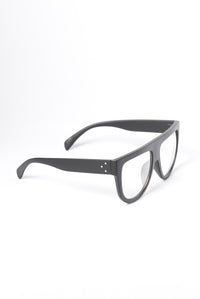 Read Up On Me Glasses - Matte Black