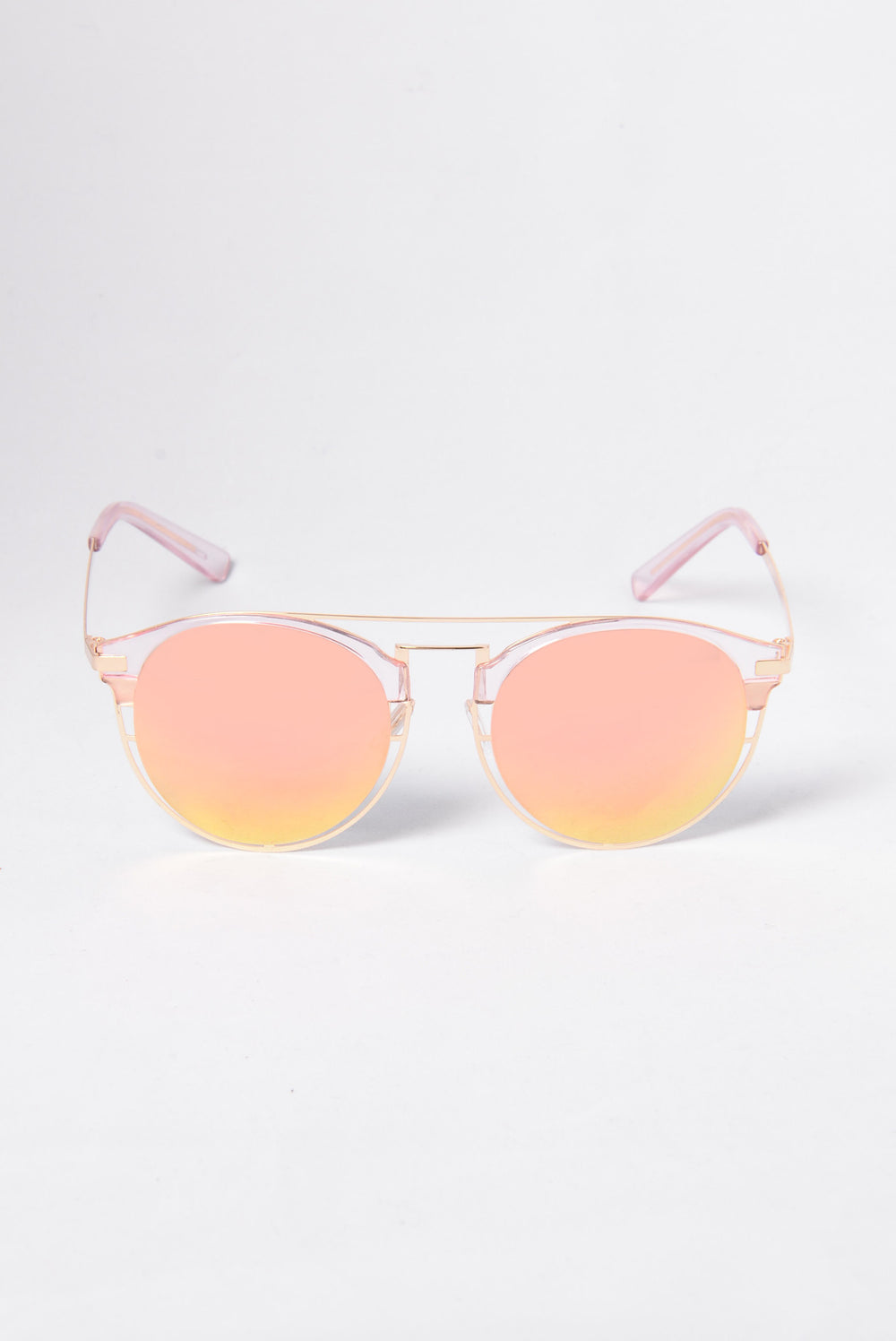 Thea Sunglasses - Clear/Yellow