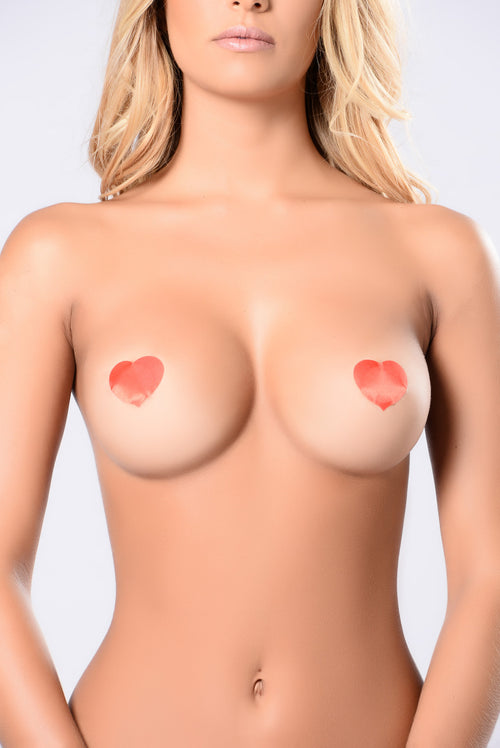 Secret Heart Pasties - Red