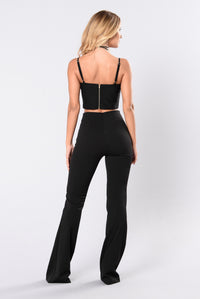 Fell So Deep Pants - Black