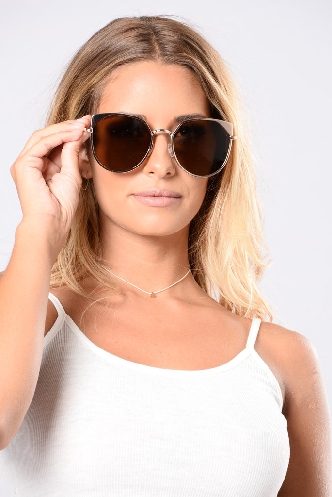 Meads Bay Sunglasses - Gold