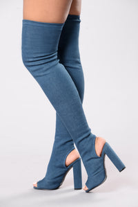 Denim Overload Boot - Denim