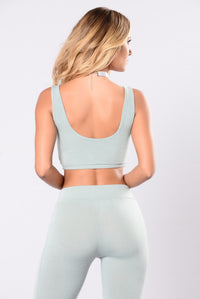 Tough Mud Tank Top - Sage
