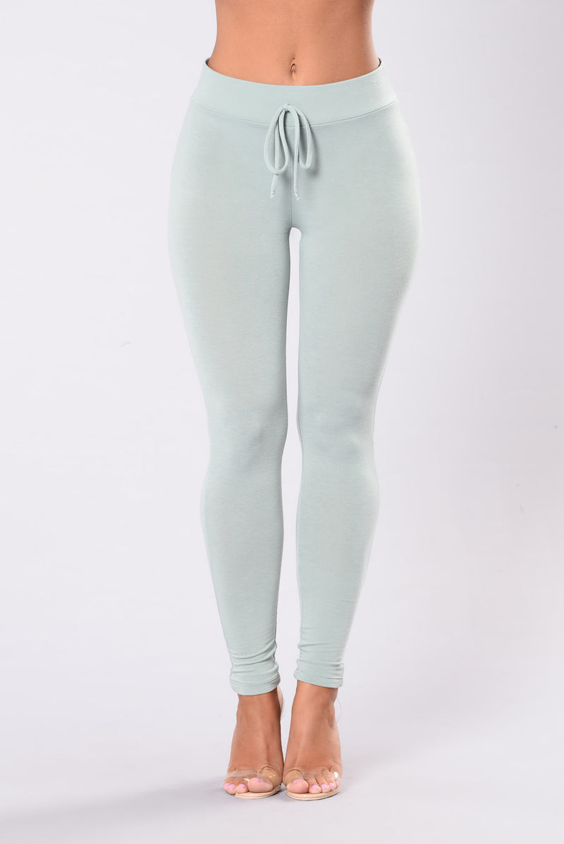 Tough Mud Leggings - Sage