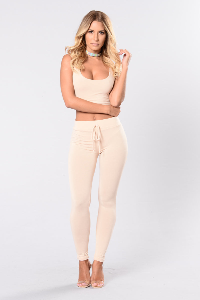 Tough Mud Leggings - Beige