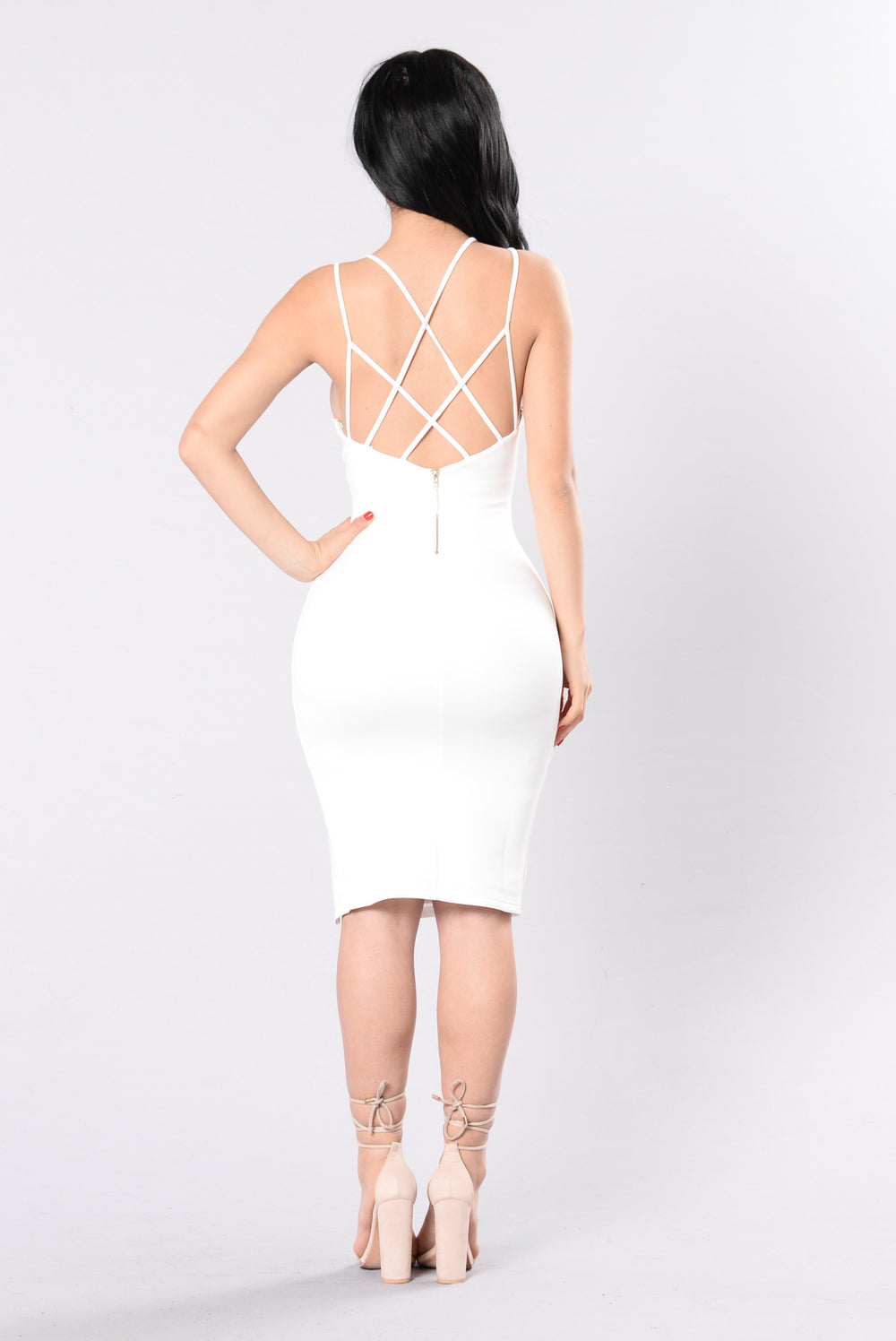 Aching Soul Dress - White