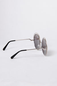 Lover's Beach Sunglasses - Silver/Multi