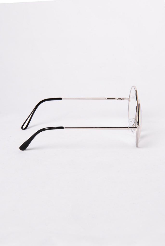 Classic Twist Glasses - Silver