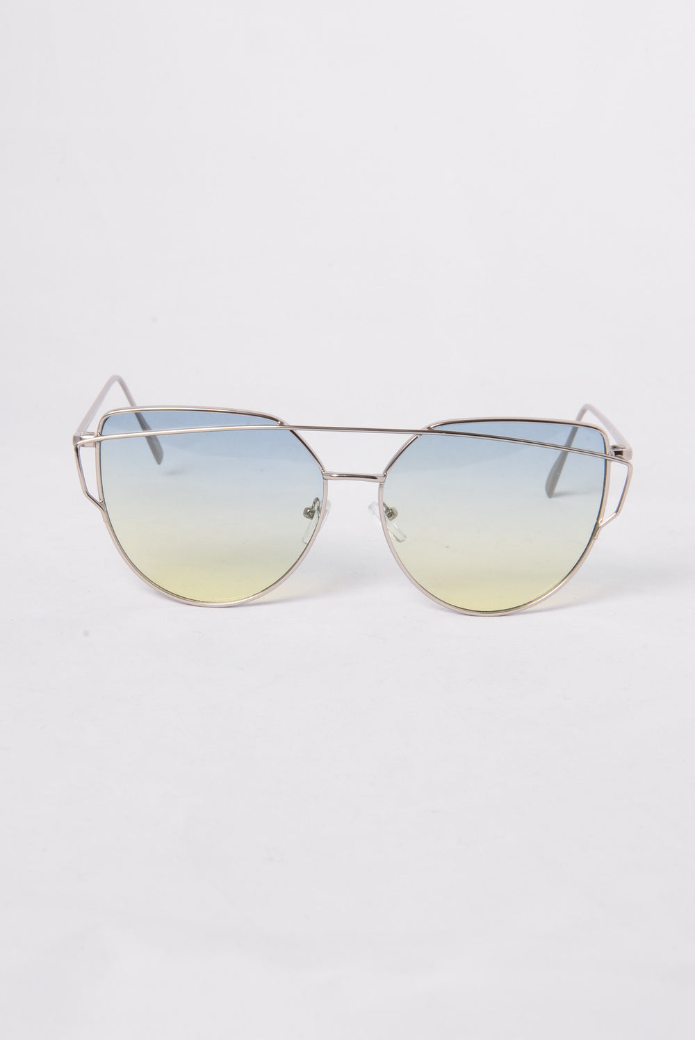 La Concha Beach Sunglasses - Silver/Green